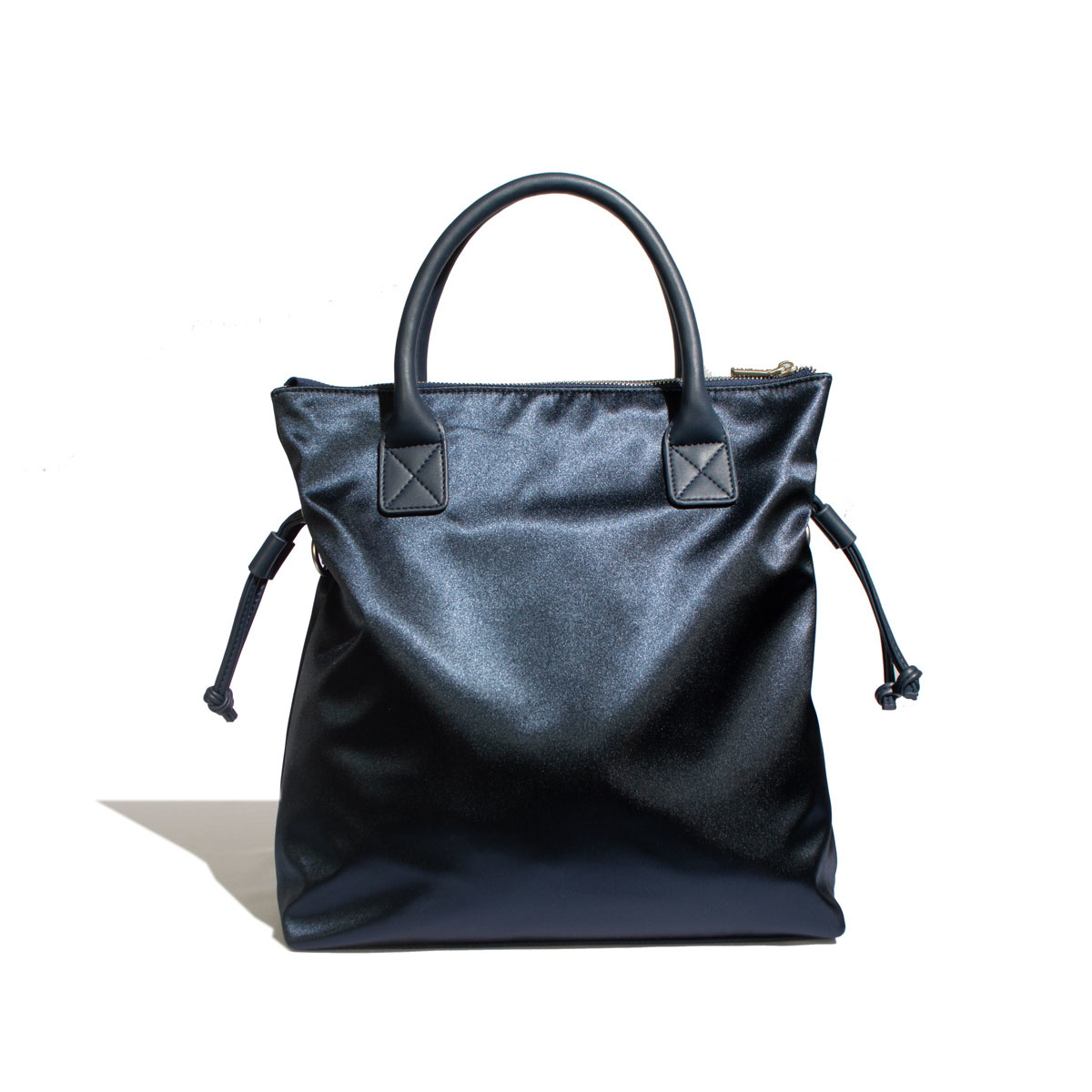 Avery Tote - Satin Blue-3