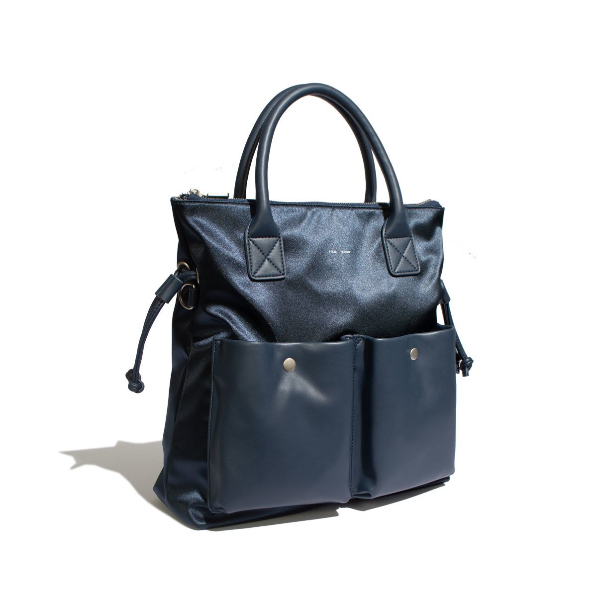 Avery Tote - Satin Blue-2