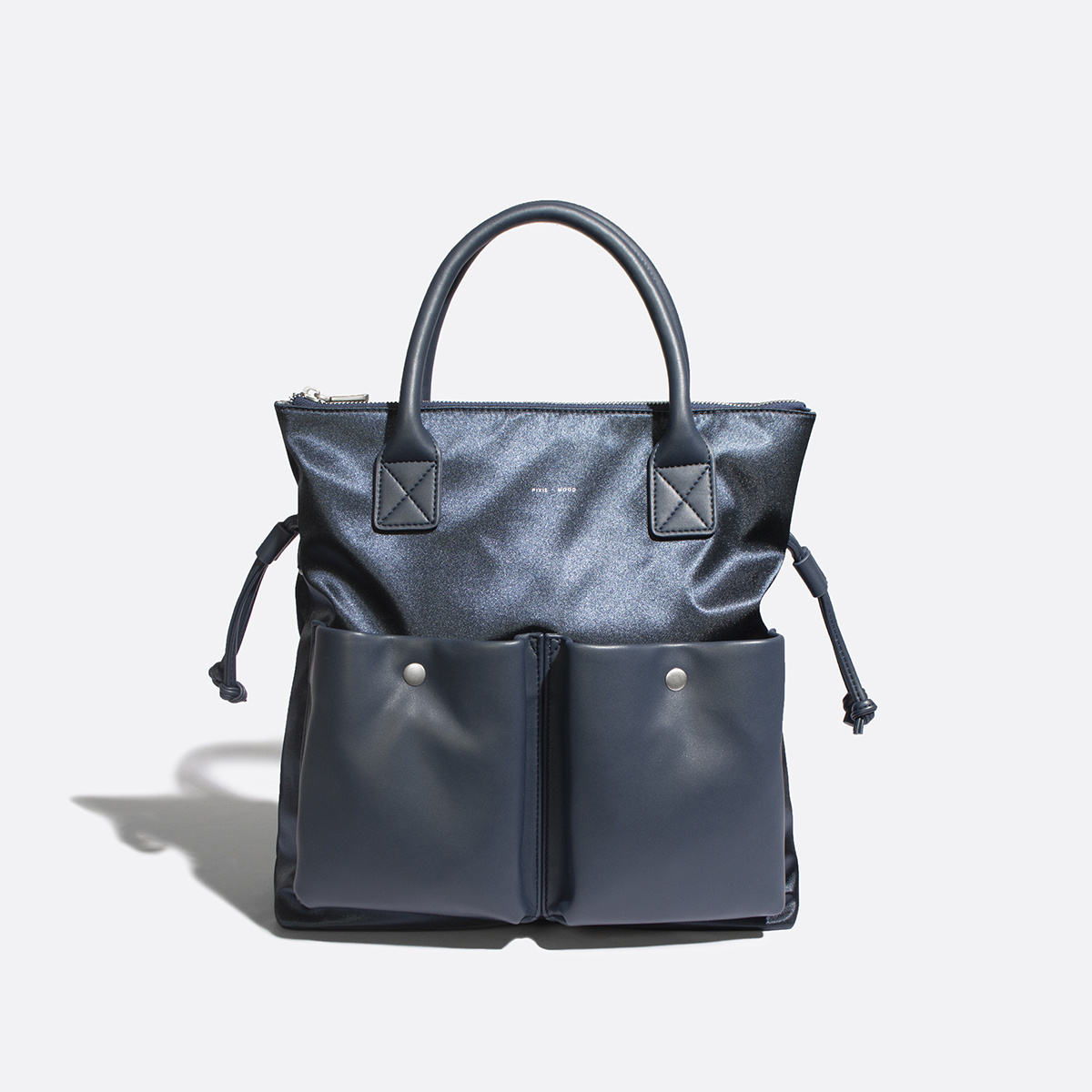 Avery Tote - Satin Blue-1