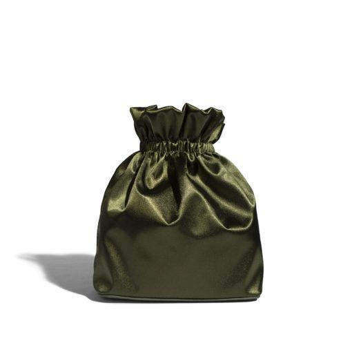 Diana Bag - Satin Olive-3