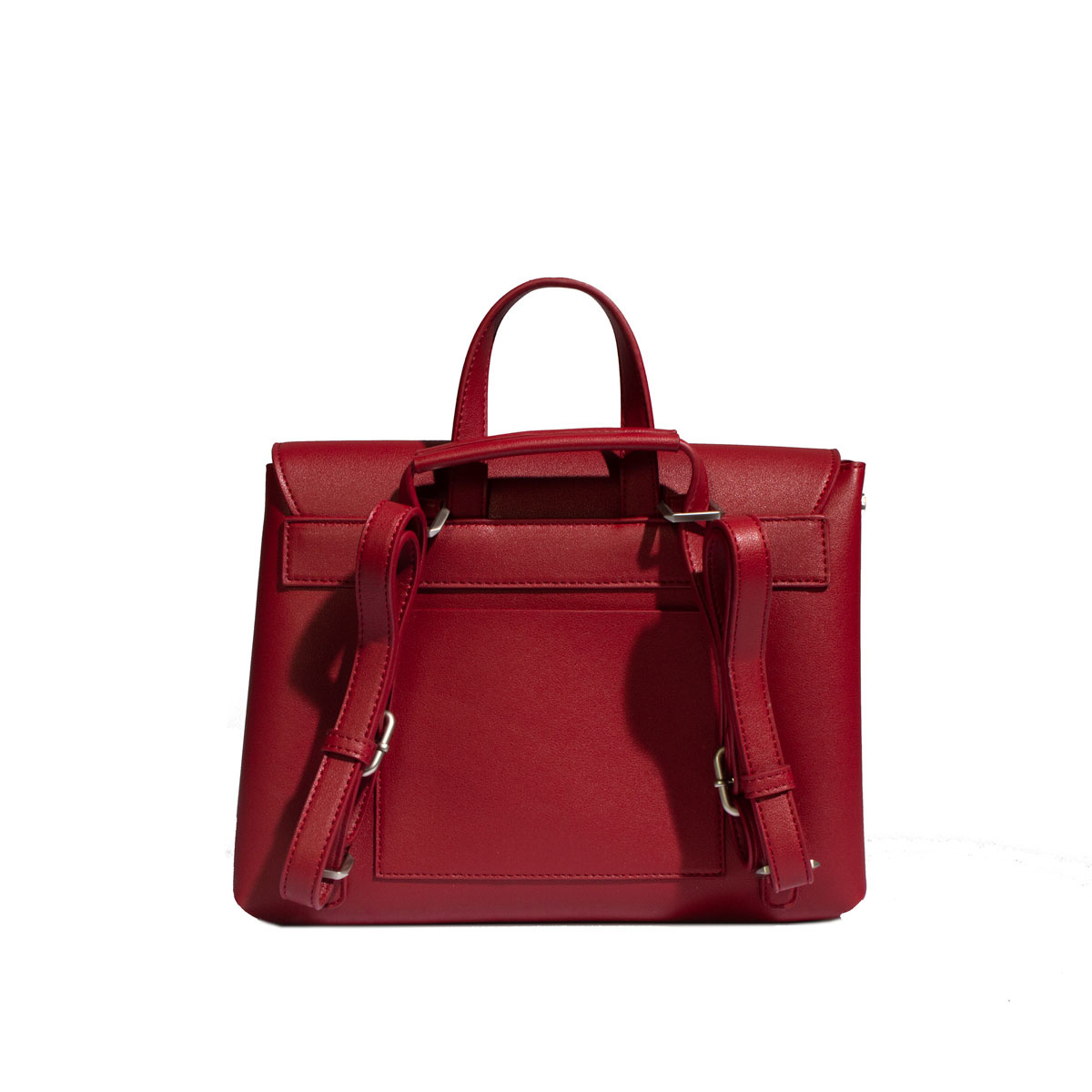 Janice Convertible Bag - Red-3