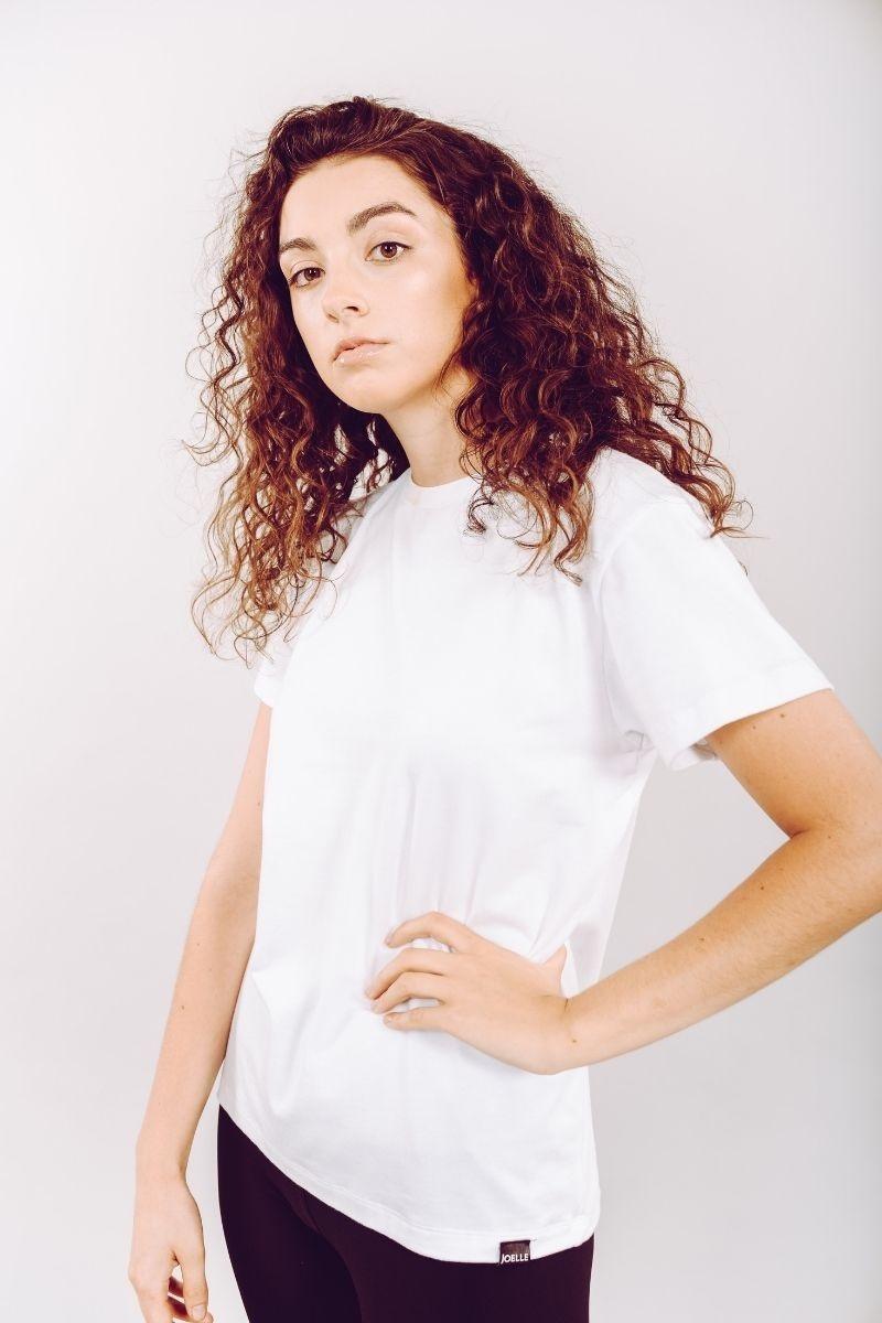 T-shirt Blanc Cassé-1