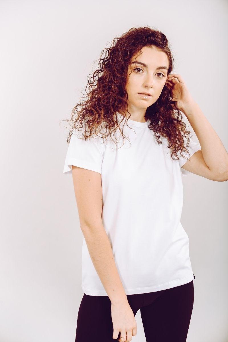 T-shirt Blanc Cassé-2