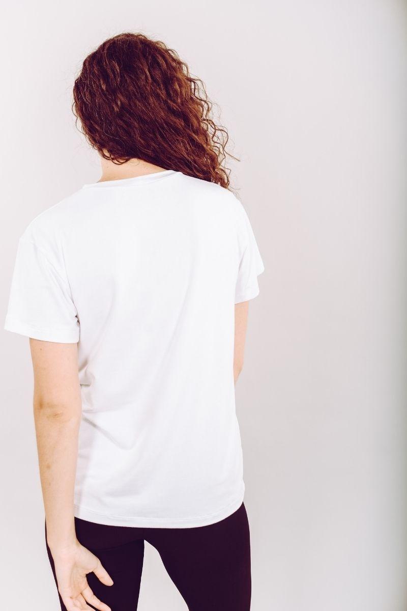 T-shirt Blanc Cassé-3