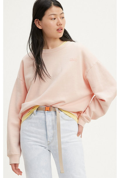 Diana Crew Neck - Peach Blush