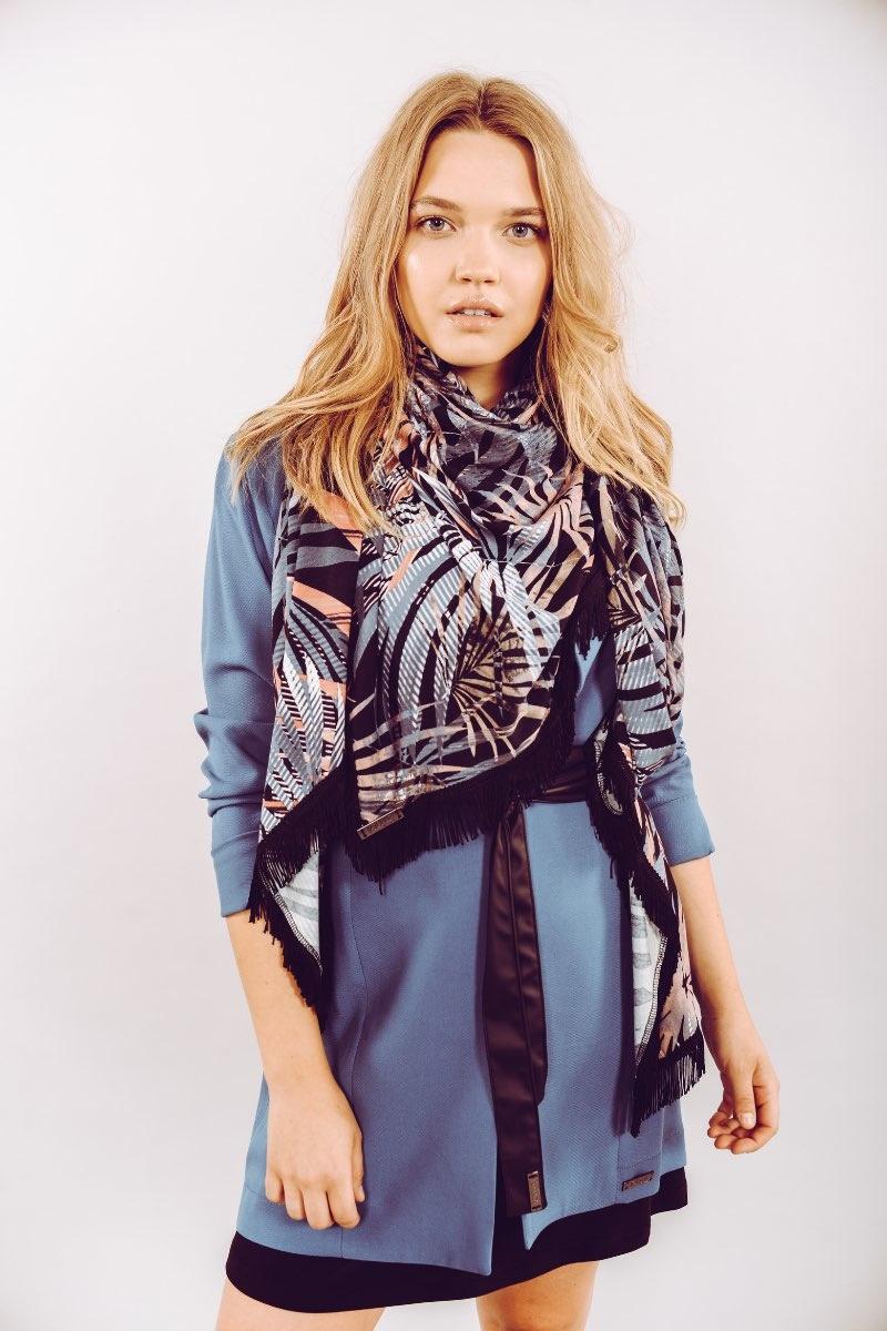 Anka Feuillage Bleu-1