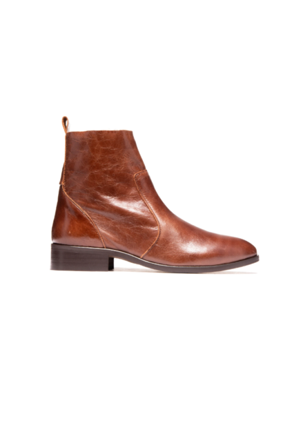 Mercer Chestnut Leather