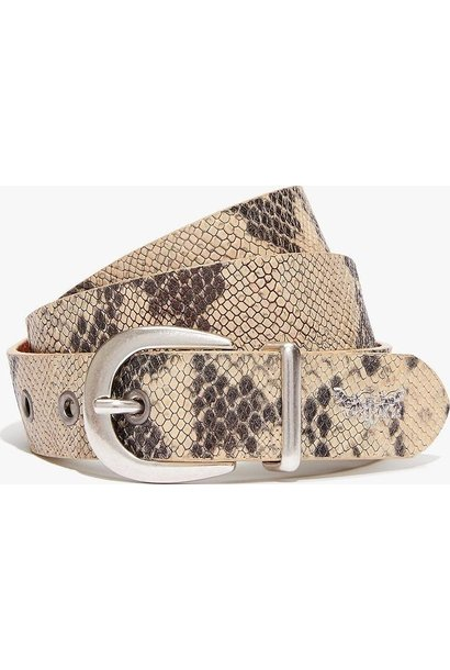 Medusa Belt - Cream