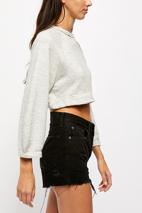Jade Pullover Light Grey-3
