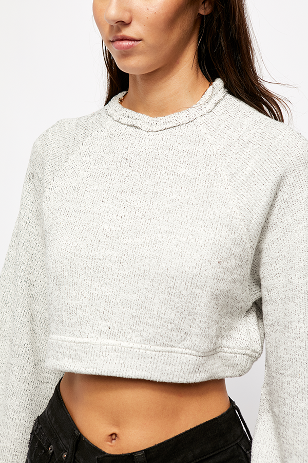 Jade Pullover Light Grey-4