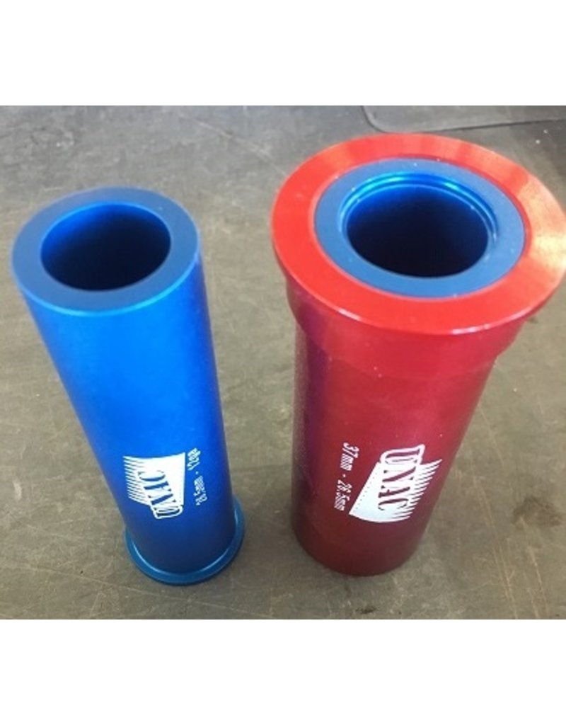 UNAC 37mm & 26 5 adapters (Red & Blue)