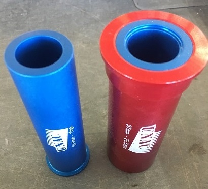 37mm & 26 5 adapters (Red & Blue)
