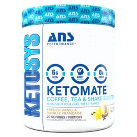ANS Ketomate Coffee Booster French Vanilla
