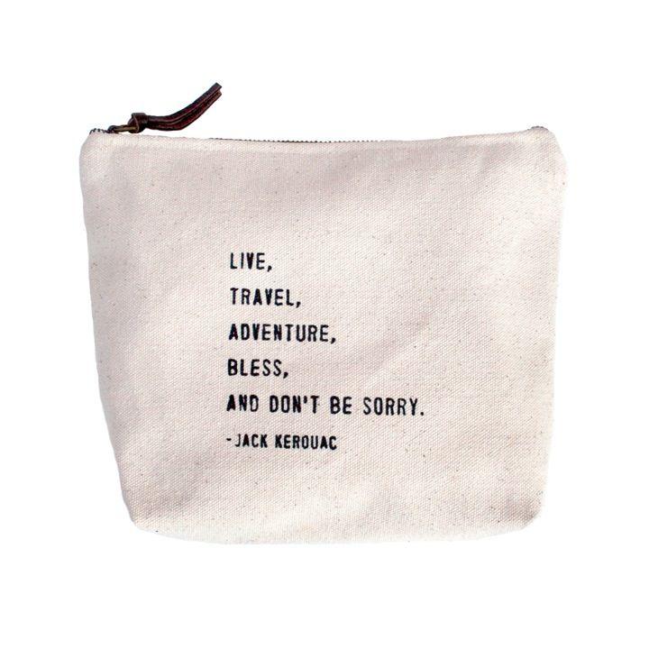 Live Travel Canvas Bag