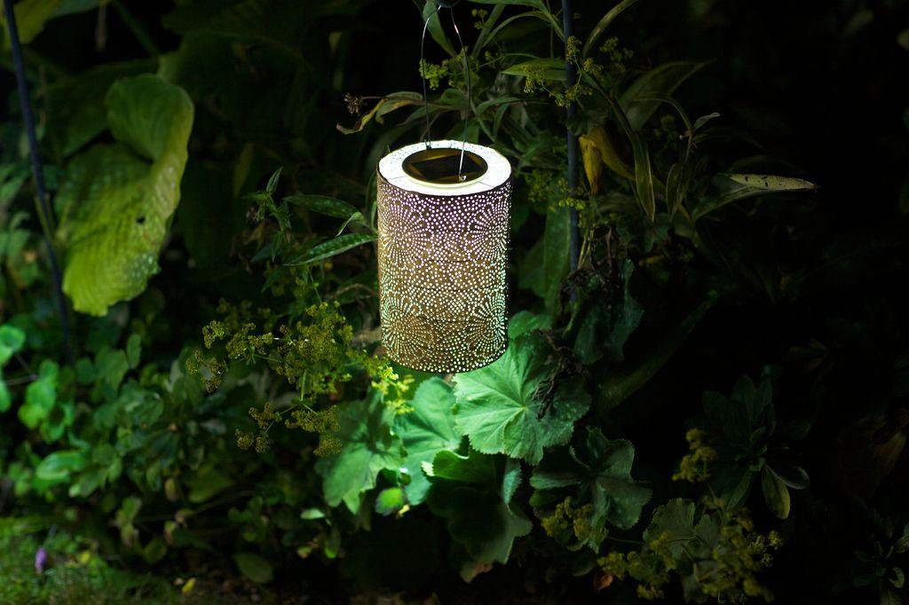 "Solar Lantern - Bronze 7.5"""