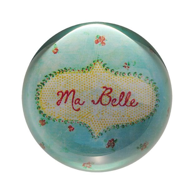 Ma Belle Paperweight 4""