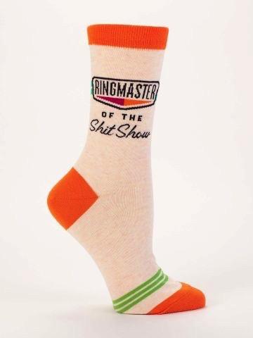 Ringmaster Shit Show Women's Socks