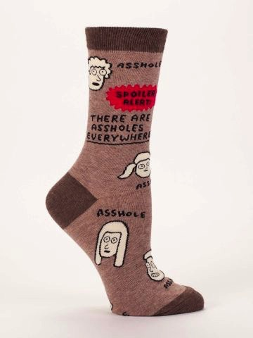 Assholes Everywhere Women's Socks