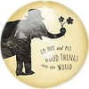 Put Good Things Paperweight 4""