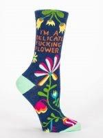 Delicate Fucking Flower Women's Socks