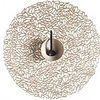 """Chilewich Pressed Petal Table Mat - Champagne 15"""""""