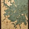 "Boston Harbor Wood Carving 24.5""W x 31""L"