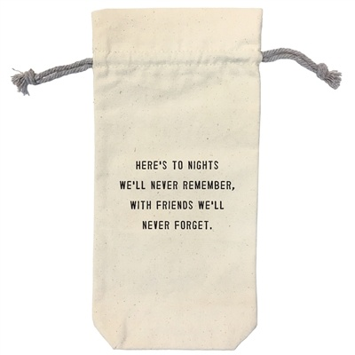 Wine Bag - Here's To The Nights