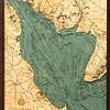 """Delaware Bay Wood Carving 24.5""""W x 31""""L"""