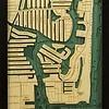 """Fort Lauderdale Wood Carving 13.5""""W x 43""""L"""
