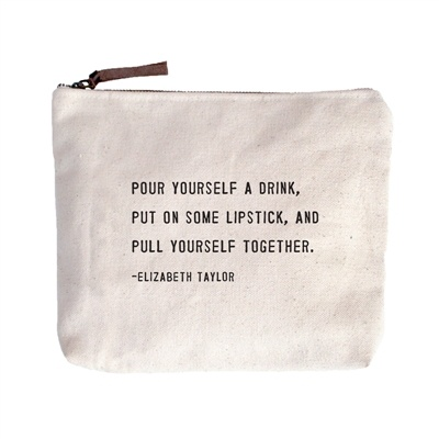 Pour Yourself a Drink Canvas Bag