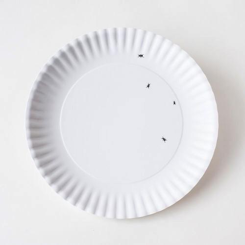 """Melamine Platter - 24"""" Ants"""