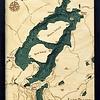 "Lake Placid Wood Carving 16"" x 20"""