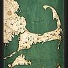 "Cape Cod & Islands Tray 22"" x 21"" x 14"""