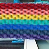 "Doormat Small - Rainbow 18"" X 28.5"""