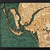 """Fort Meyers Wood Carving 16"""" x 20"""""""
