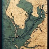 "Tampa Bay Wood Carving 24.5""W x 31""L"
