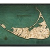"Nantucket Tray 22"" x 21"" x 14"""