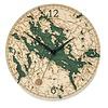 """Lake Winnipesaukee Clock 12"""""""