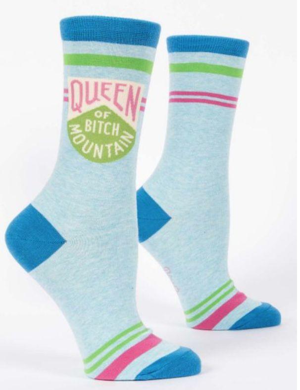 Queen Bitch Mountain Women's Socks