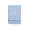 "Fabric Notebook - Hans Christian Andersen 3.5"" x 5.5"""
