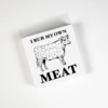 Cocktail Napkins - Rub Meat 20 Ct/3 Ply