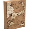 "Cape Cod Cork Map 8"" x 10"""