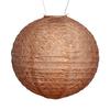 "Market Solar Lantern - Bronze 12"""