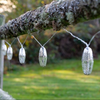 Marrakesh Silver Star Solar String Lights - Metal 10 piece
