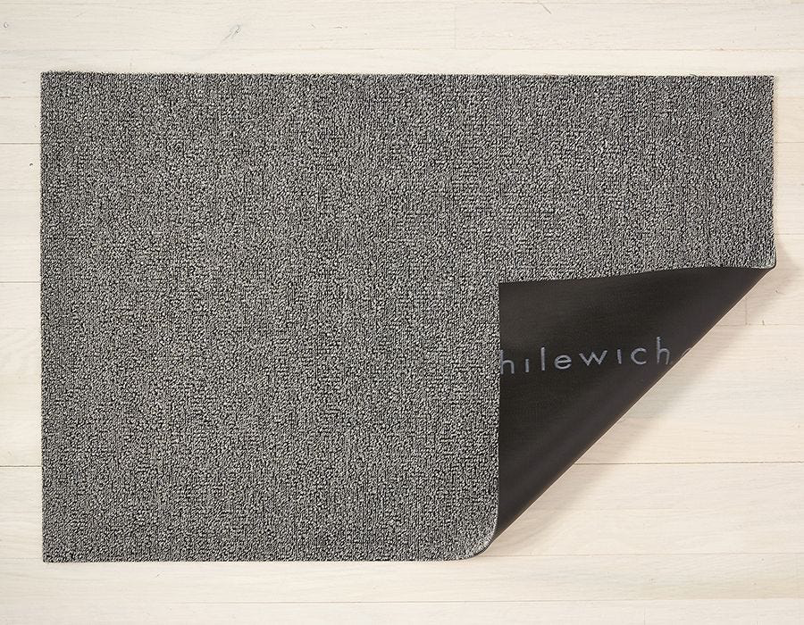 "Chilewich Heathered Shag Door Mat- Fog 18"" x  28"""