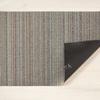 """Chilewich Skinny Stripe Shag Doormat - Soft Multi 18"""" x 28"""""""