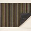 "Chilewich Skinny Stripe Shag Runner- Bright Multi 24"" x 72"""