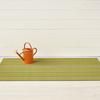 "Chilewich Skinny Stripe Shag Big Mat- Citron 36"" x 60"""