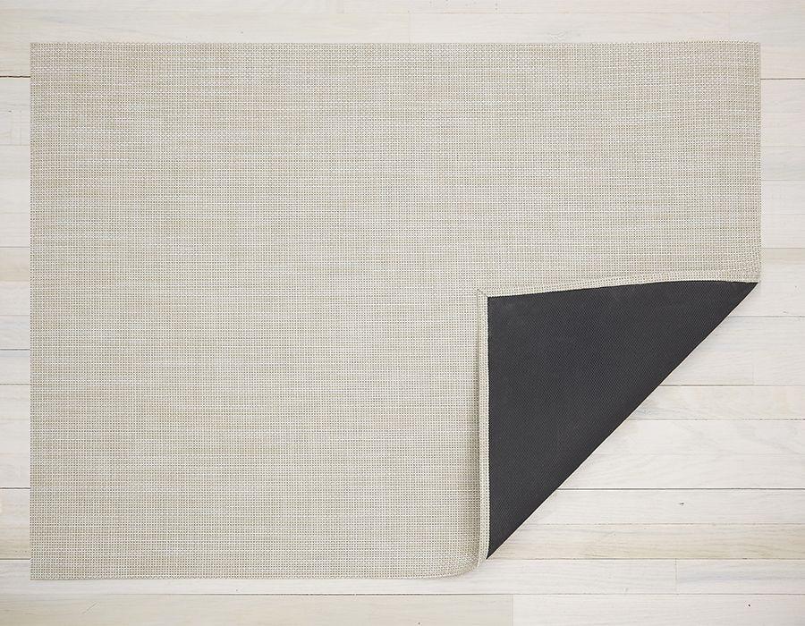 "Chilewich Basketweave Floormat - Khaki 23"" x 36"""