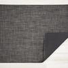 "Chilewich Basketweave Floormat - Carbon 35"" x 48"""